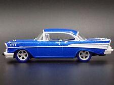 1957 Chevrolet Bel-Air Blue RARE 1:64 DIECAST MODEL CAR M2 CHASE