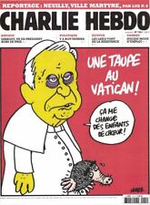 charlie hebdo 1041 une taupe au vatican !