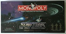 Star Trek TNG The Next Generation Monopoly Collector's Edition 1998 New In Box