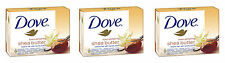 3x DOVE Purely Pampering Shea Butter & Warm Vanilla Scent Bar Soap Moisturising