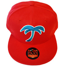 West Palm Beach Tropics Fitted Hat Baseball Cap SPBA Flint Tropics