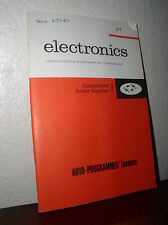 Electronics: Unregulated Power Supplies #2503-6 (1986,Paperback)