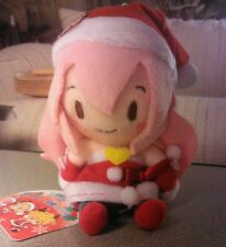 Megurine Luka Santa Christmas Mini Plush Vocaloid Project Diva F2nd - USA seller