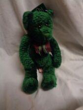 "Russ Plush Spearmint Teddy Bear Green 13"" NWT"