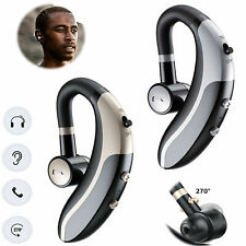 Bluetooth Headset Wireless Earphone with Mic For Samsung S10 S9 S8 S7 LG Tablets
