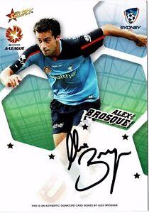 2007/08 A-League Signatures A7: Alex Brosque #560/600
