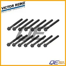 Mercedes Benz W124 W126 W170 W202 Set Of 14 Cylinder Head Bolts VICTOR REINZ NEW