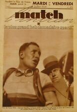 Match l'Intran n°409 - Tour de France Georges Speicher - Wimbledon - A Merlin