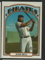 2021 Topps Heritage - French Text Variation - #309 Josh Bell - Pittsburgh