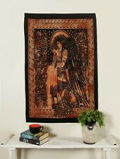 Celtic Angel Wall Hanging Cotton Tapestry Poster Indian Handmade Hippie Fabric