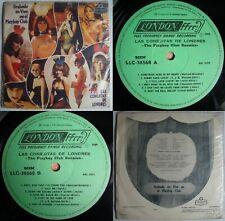 THE PLAYBOY CLUB BUNNIES CAUGHT LIVE 1969 MONO UNIQ CVR! POP BEAT CHILEAN PRESS!
