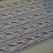 FEUILLE SHEET ŒUVRES DE L'AIR AVIATION N°540 x25 1942 NEUF ** LUXE MNH COTE 75€