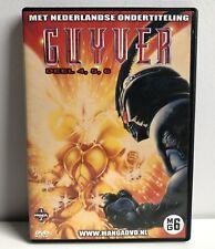 GUYVER MANGA ANIME DEEL 4,5,6 DVD NL / DUTCH SUBTITLES RARE