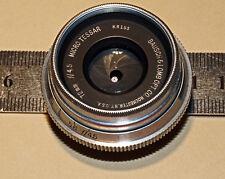 RARE Bausch Lomb 72mm F/4.5 Micro MACRO Tessar LARGE MEDIUM  FUJI GFX 50s Lens