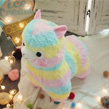 "7"" Rainbow Cute Alpacasso Kawaii Alpaca Llama Arpakasso Soft Plush Toy Doll Gift"
