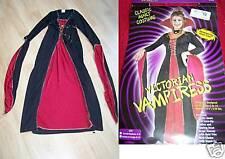 Adult Size Small Medium 2-8 Victorian Vampiress Vampire Halloween Costume Dress