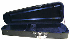"NEW deluxe size adjustable (14""-16.5"") black blue dart viola case many features"