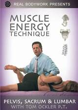 Muscle Energy Technique 1 Medical Massage Video Pelvis Sacrum Lumbar Back on DVD