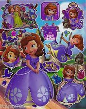 SOFIA READY TO BE PRINCESS CUTE SCRAPBOOK STICKERS IN HD (BUY 5 MIX FREE 1)