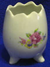 Small Porcelain Egg-Shaped Container-SHIPPING INCLUDED