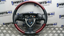 2005 LEXUS GS300 MULTIFUNCTION STEERING WHEEL WOOD AND LEATHER WITHOUT AIRBAG