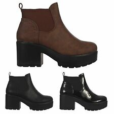 Ankle Boots Synthetic Leather Slip On Shoes for Women