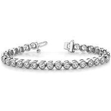 One Tennis Bracelet 70L2272.5 3.00 Ct Moissanite Round Forever