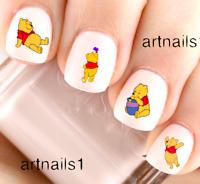 Disney Winnie the Pooh Bear Nail Art Water Decals Stickers Manicure Salon Polish