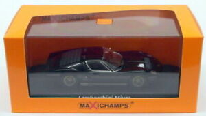 Maxichamps 1/43 Scale Diecast 940 103000 - 1966 Lamborghini Miura - black