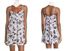 Kate Spade New York Stripe Floral Cotton Lawn Sleep Chemise NEW Tags Size M