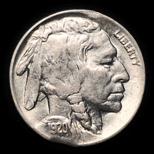 Double-Clip Mint Error 1920-P 5C Buffalo Nickel U.S. Coin Lot