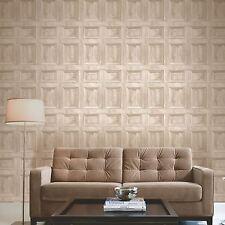Distintivo fondo de Pantalla de Panel de Madera-Crema-FINE DECOR FD31054 De Madera