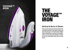 Mini Travel Steam Iron,Compact and Durable Clothes steamer Dual Voltage