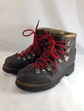 Scarpa Fabiano Extra Mountaineering Hiking Boots Shoes Mens 10.5 M Brown Leather
