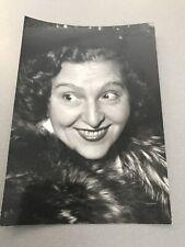 Marie bell: original press photo 13x18cm