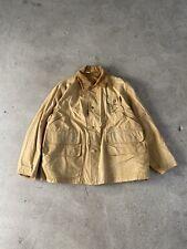 Vtg 1930's Red Head Bone Dry Hunting Jacket