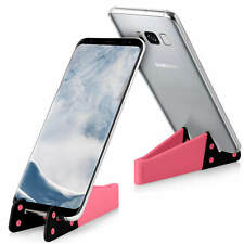 Smartphone soporte móvil Tablet mesa soporte plegable universal rosa