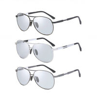 Mens Polarized Sunglasses Transition Photochromic Glasses Driving Sporty UV K485