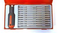 Teng Tools TTMD12D Reversible screwdriver set of 12 PIECE 128650108