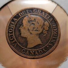 1859 Canada Queen Victoria Large Cent