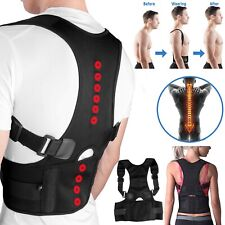 Wellness Posture Corrector Back Brace (Adjustable to All Body Sizes)