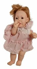 """Hasbro J. TURNER 20"""" Realistic 1984 BABY Doll Weighted Eyes Vintage Collectible"""