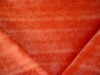 2Y ROBERT ALLEN DURALEE CANYON RED CRUSHED CHENILLE UPHOLSTERY FABRIC
