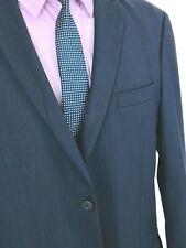 42R* Joseph Jos A Bank Slim Fit Mens 2 Bttn Wool Blazer Jacket Gray Black Exc!