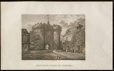 1829 - Gravure Principale Porte de Chartres