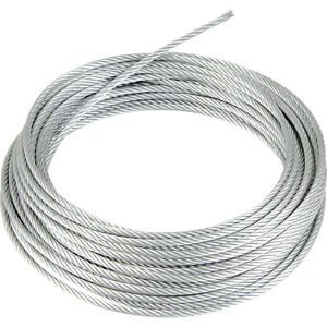 Stainless Steel Wire Rope 7x19 price per Metre 5mm