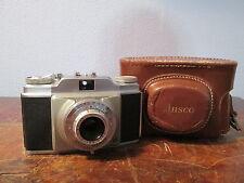 Vintage Ansco Memar Pronto w/ Agfa Apotar 1:3.5/45mm Lens & Original Case