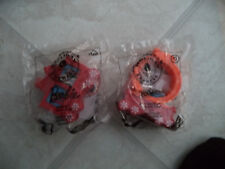 (2) MCDONALDS HOLIDAY EXPRESS #10 BARBIE #11 HOT WHEELS SEALED  WRAP
