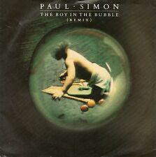 PAUL SIMON - THE BOY IN THE BUBBLE (REMIX). (UK, 1986, WARNER BROS. W8509)