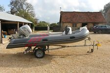 rigid inflatable boats used